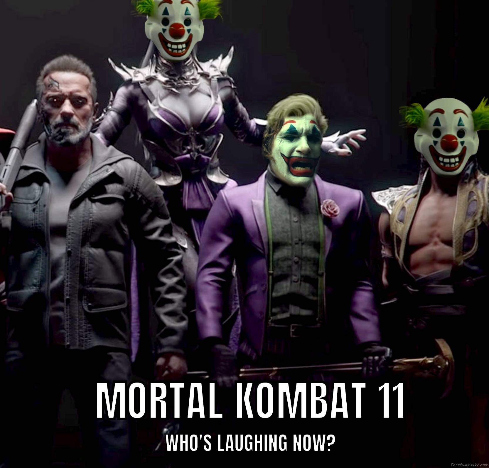 Joker in Mortal Kombat 11