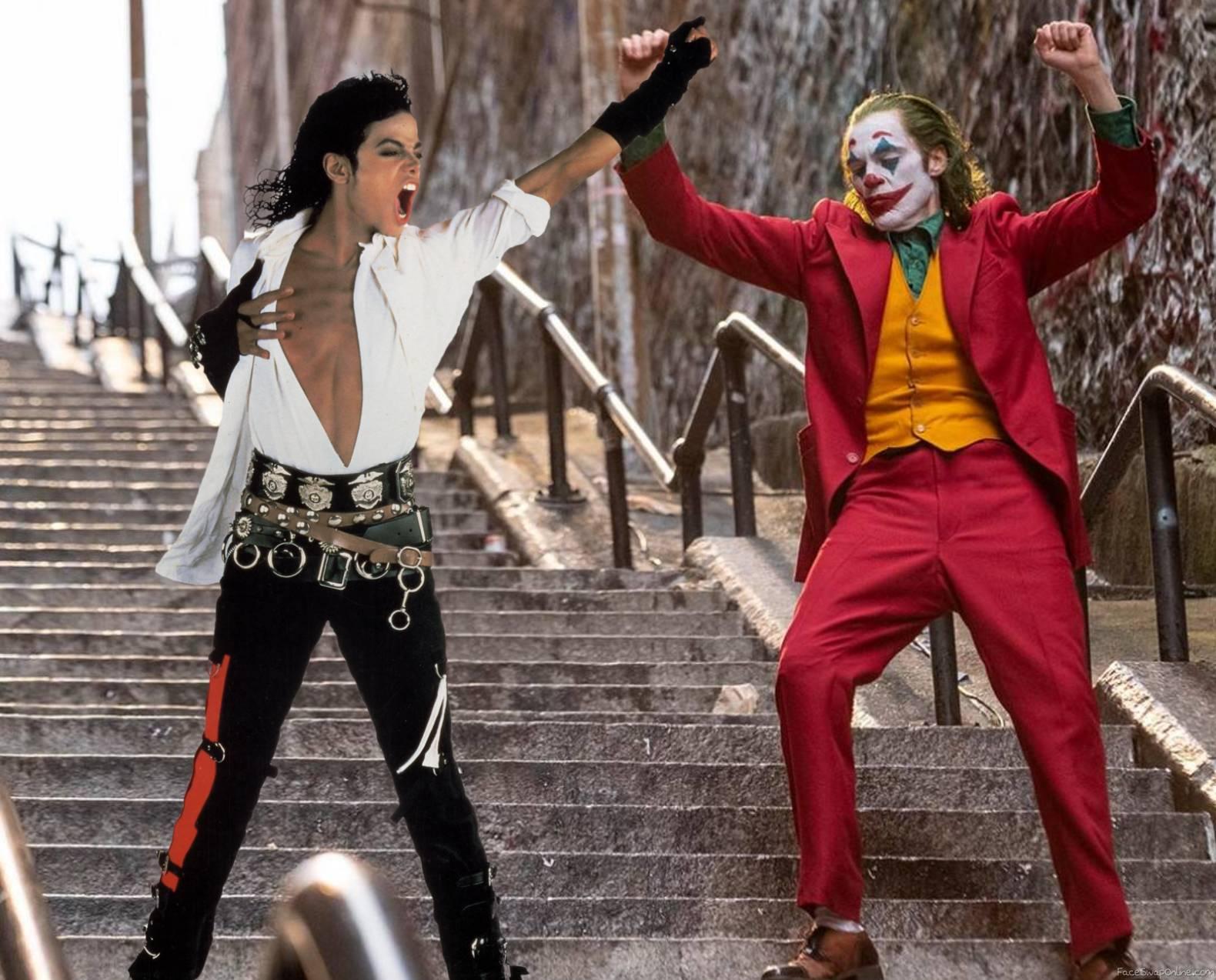 Joker with Michael Jackson