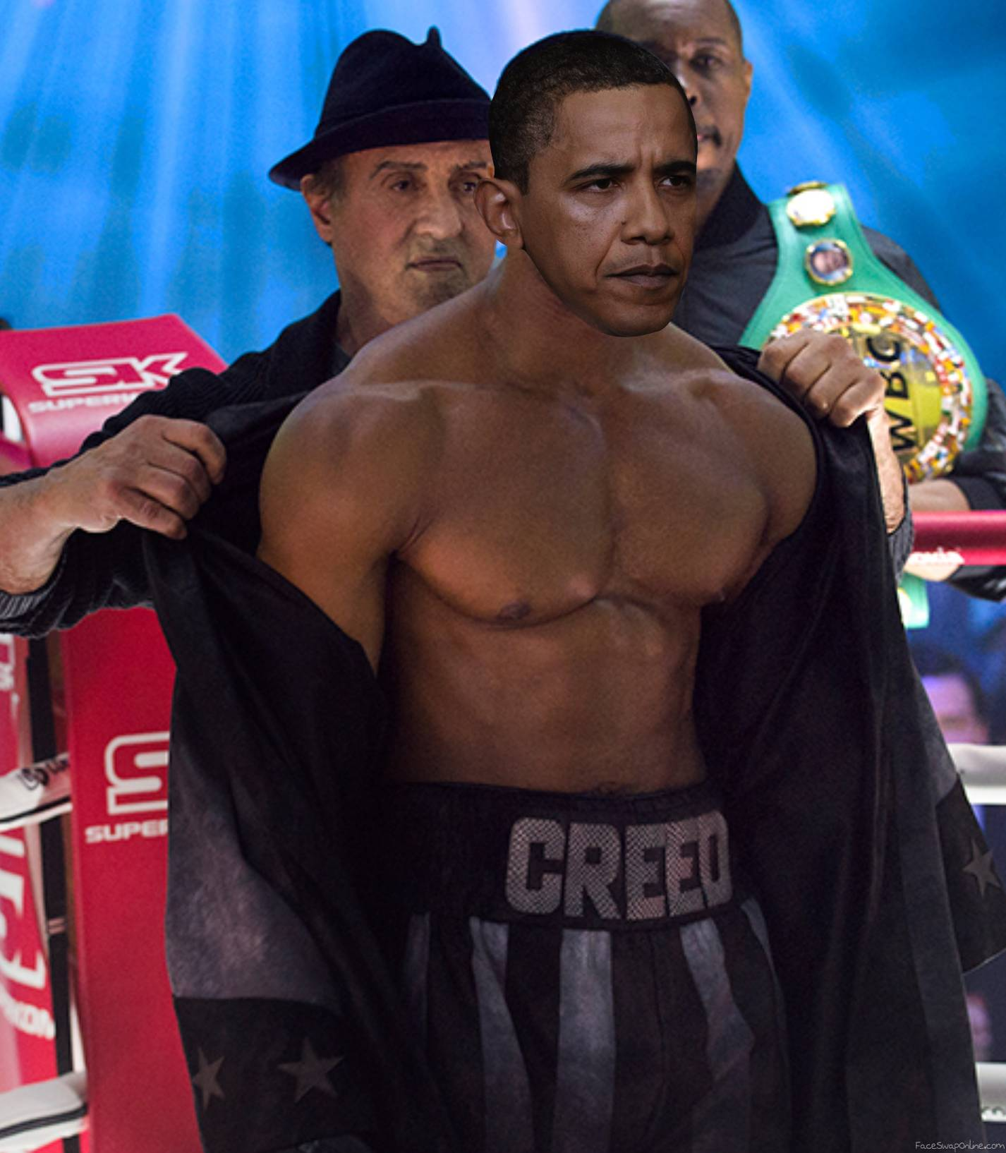 Obama Creed ready to rumble!