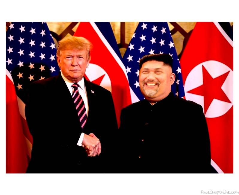 Trump and DanJongUn