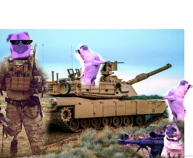 pug army