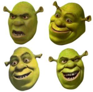 Shrek Emojis