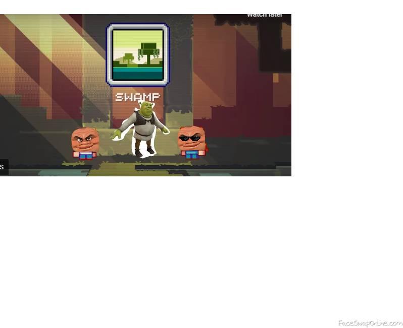 shrek in minecraft