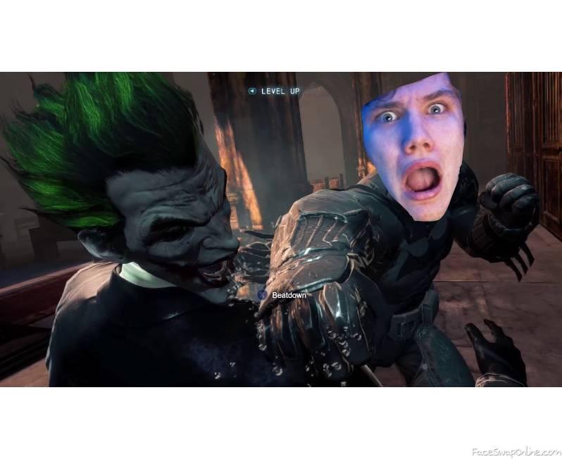Bruce Wayne vs The Joker
