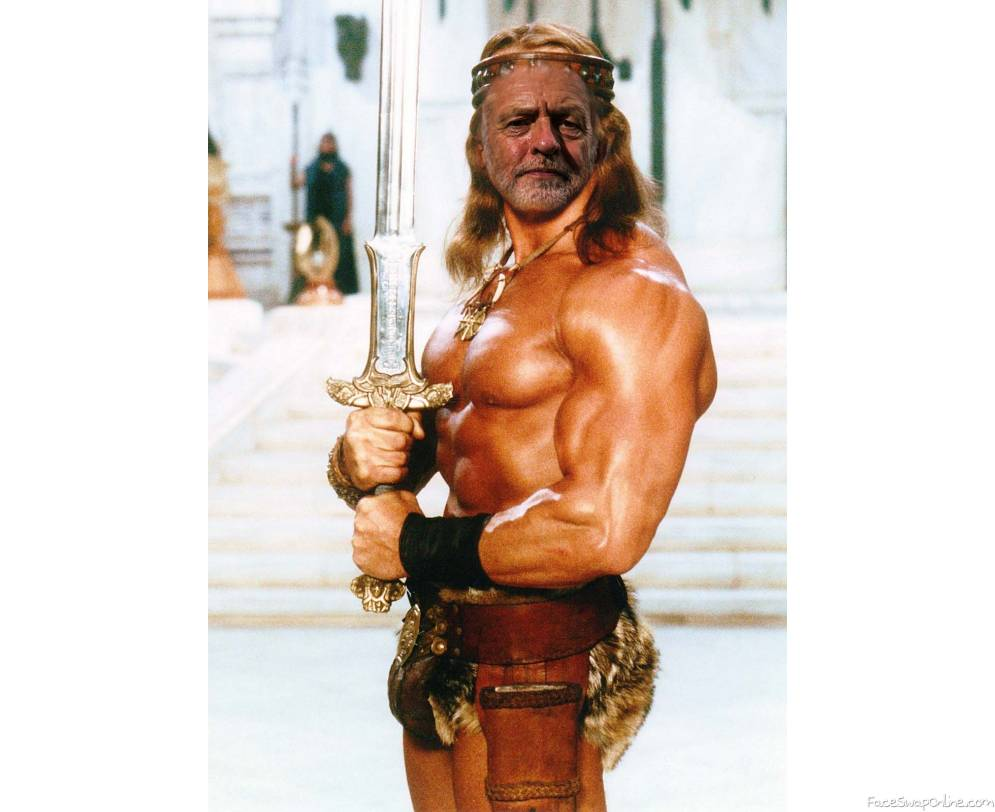 CORBYN THE BARBARIAN