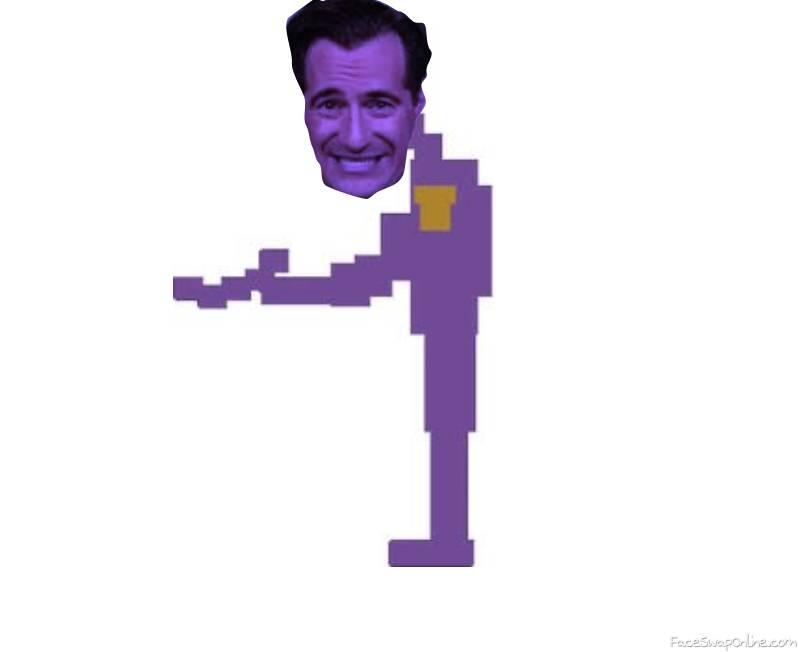 Carl Azuz Is Purple Guy