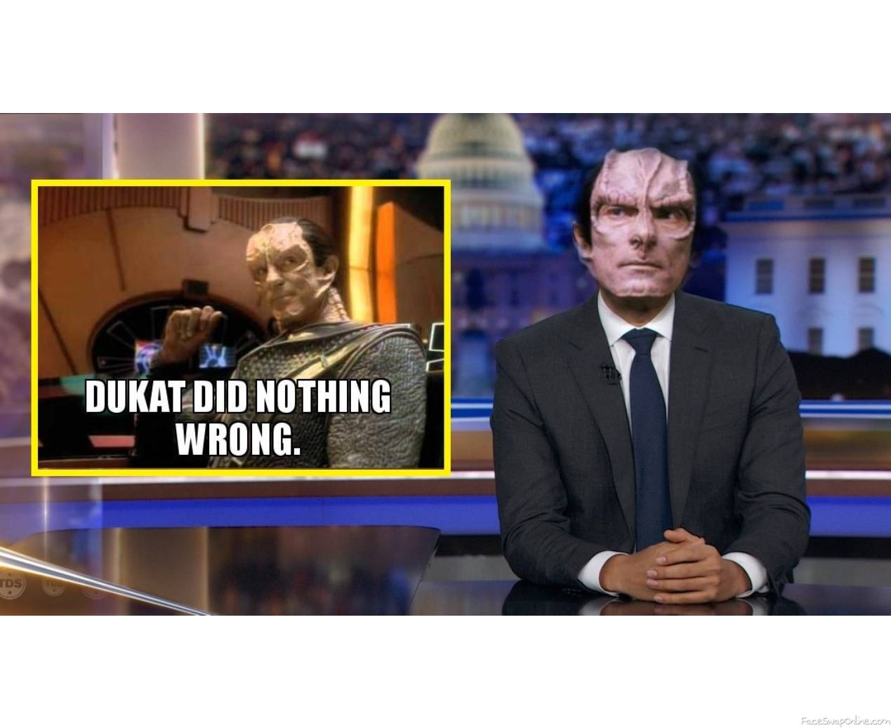Dukat and the News