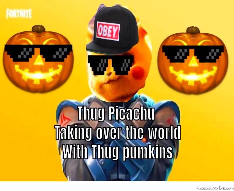 Thug Pikachu