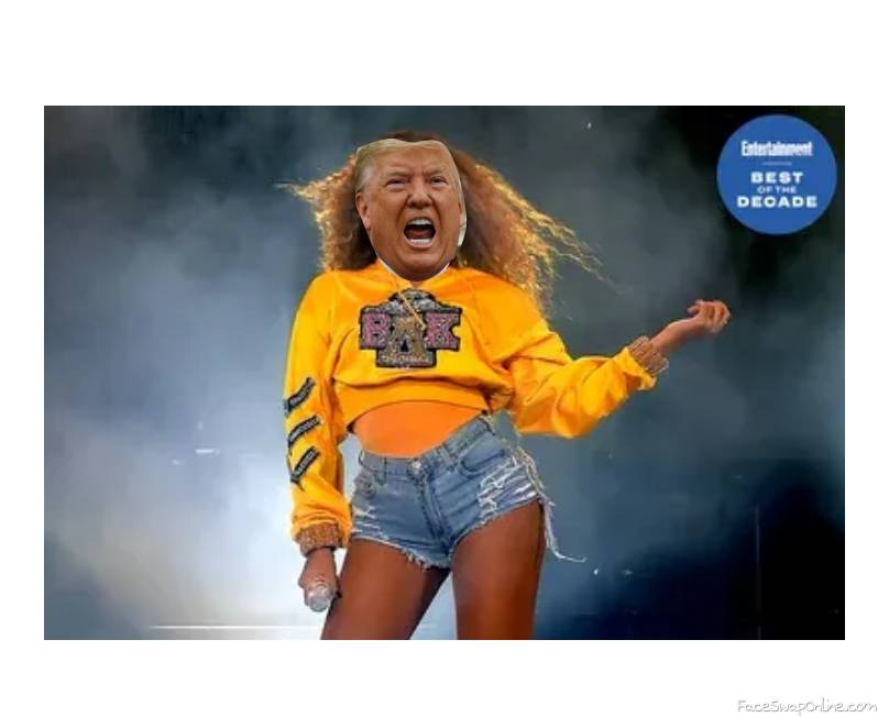 Beyonce Trump