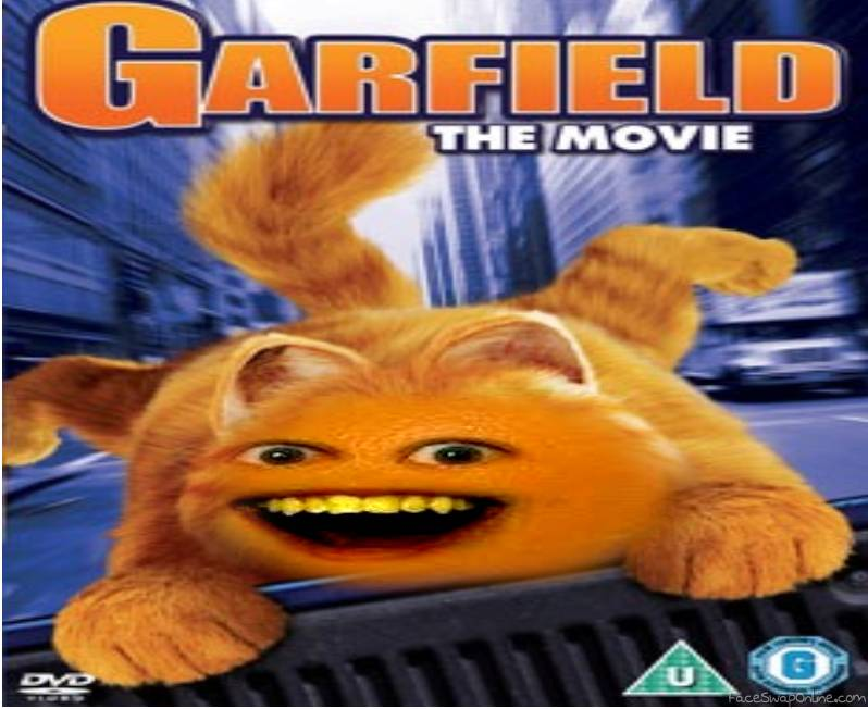 Garfield Movies Now On Dvd Face Swap Online