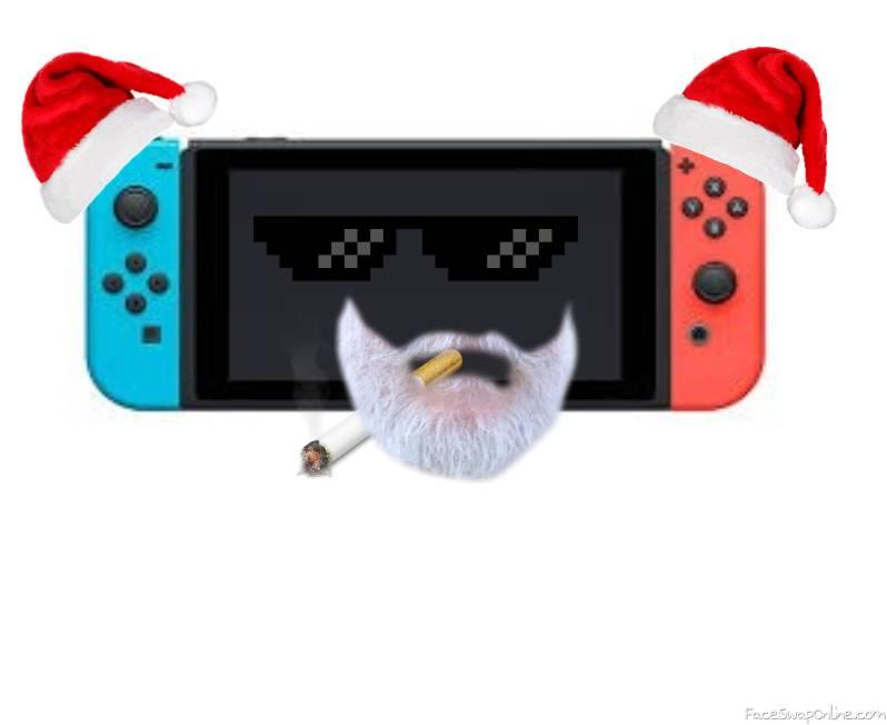 Santa Switch Smoking
