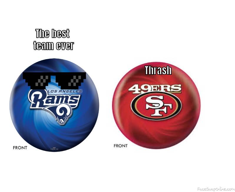 The rams are the best