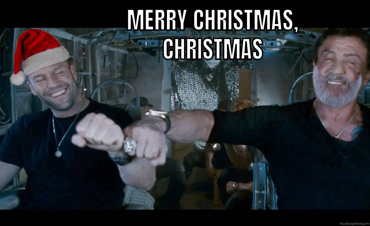 When Lee Christmas celebrates Christmas