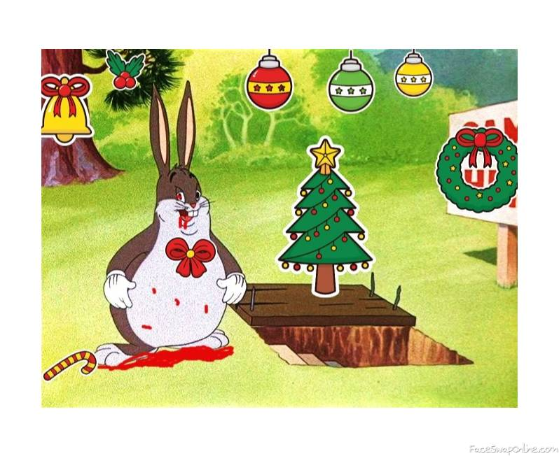 You better watch out You better not cry You better not pout I'm telling you why Santa Chungus will be mad...