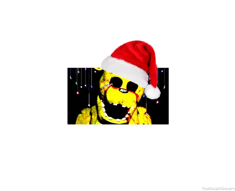 christmas golden freddy