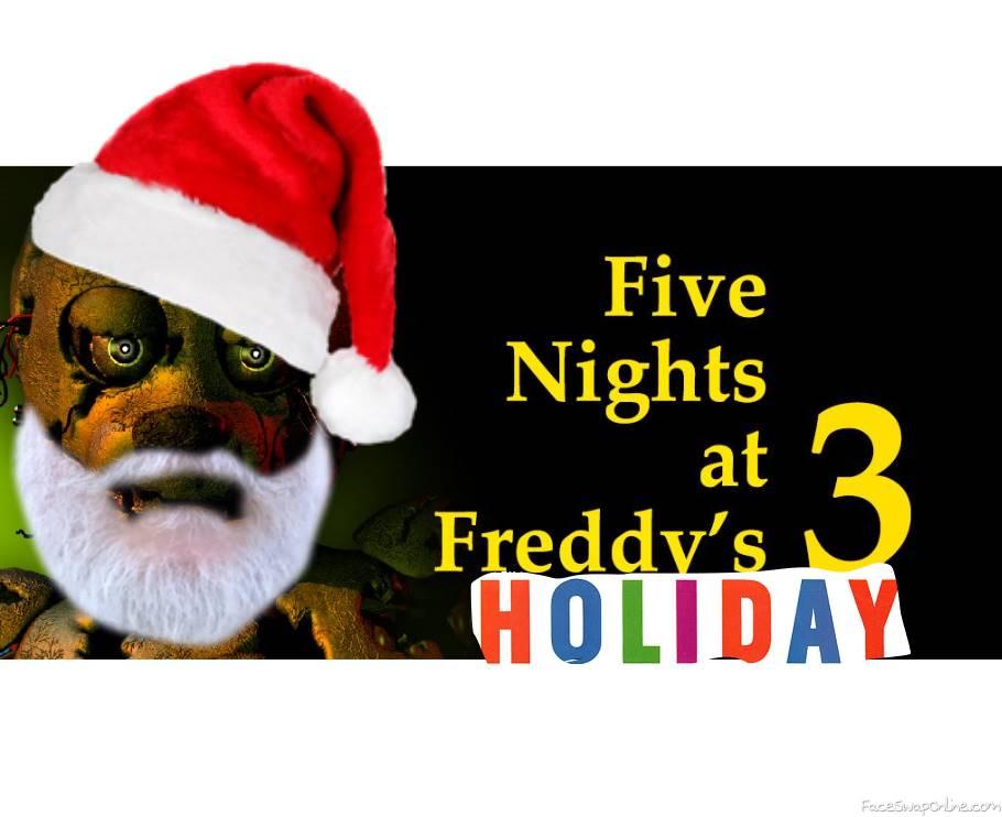 fnaf holiday 12