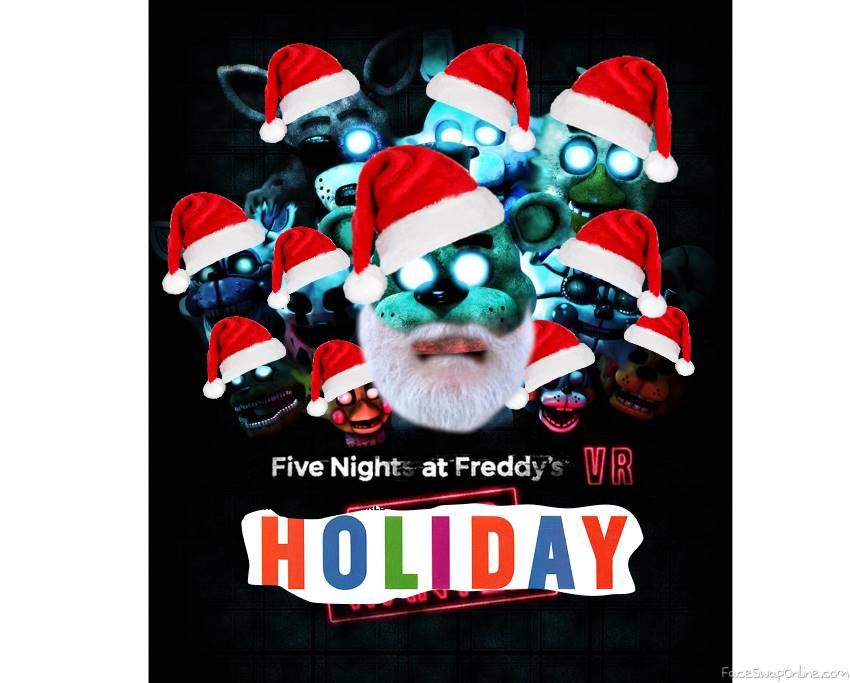 fnaf vr holiday