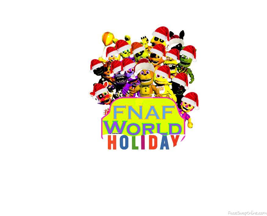 fnaf world holiday