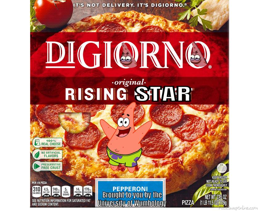 Digiorno + Spongebob