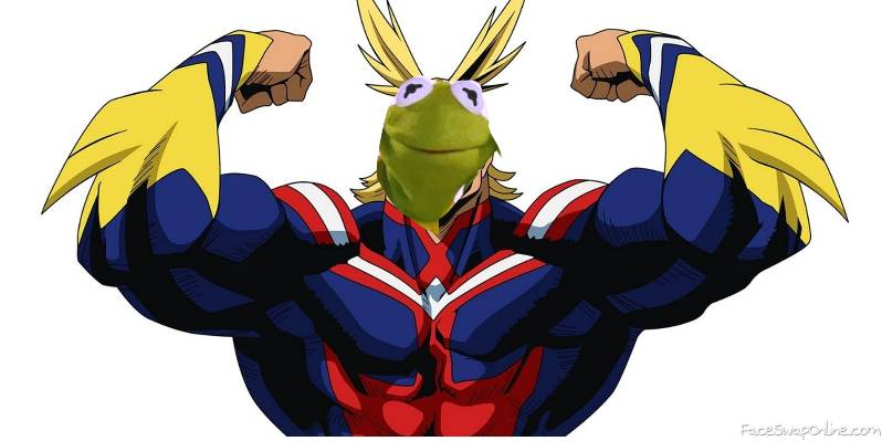 Kermit All Might