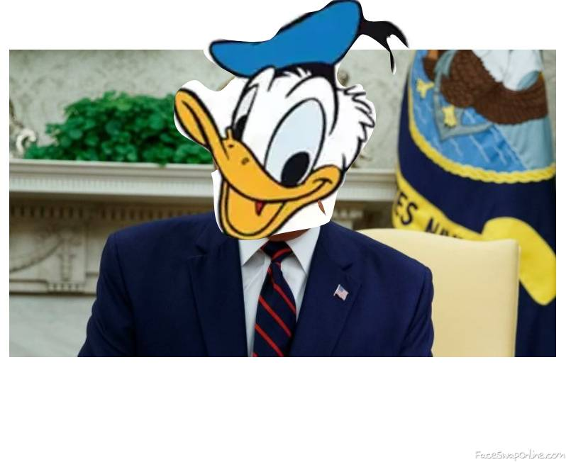 "President Donald ""Duck"" Trump"