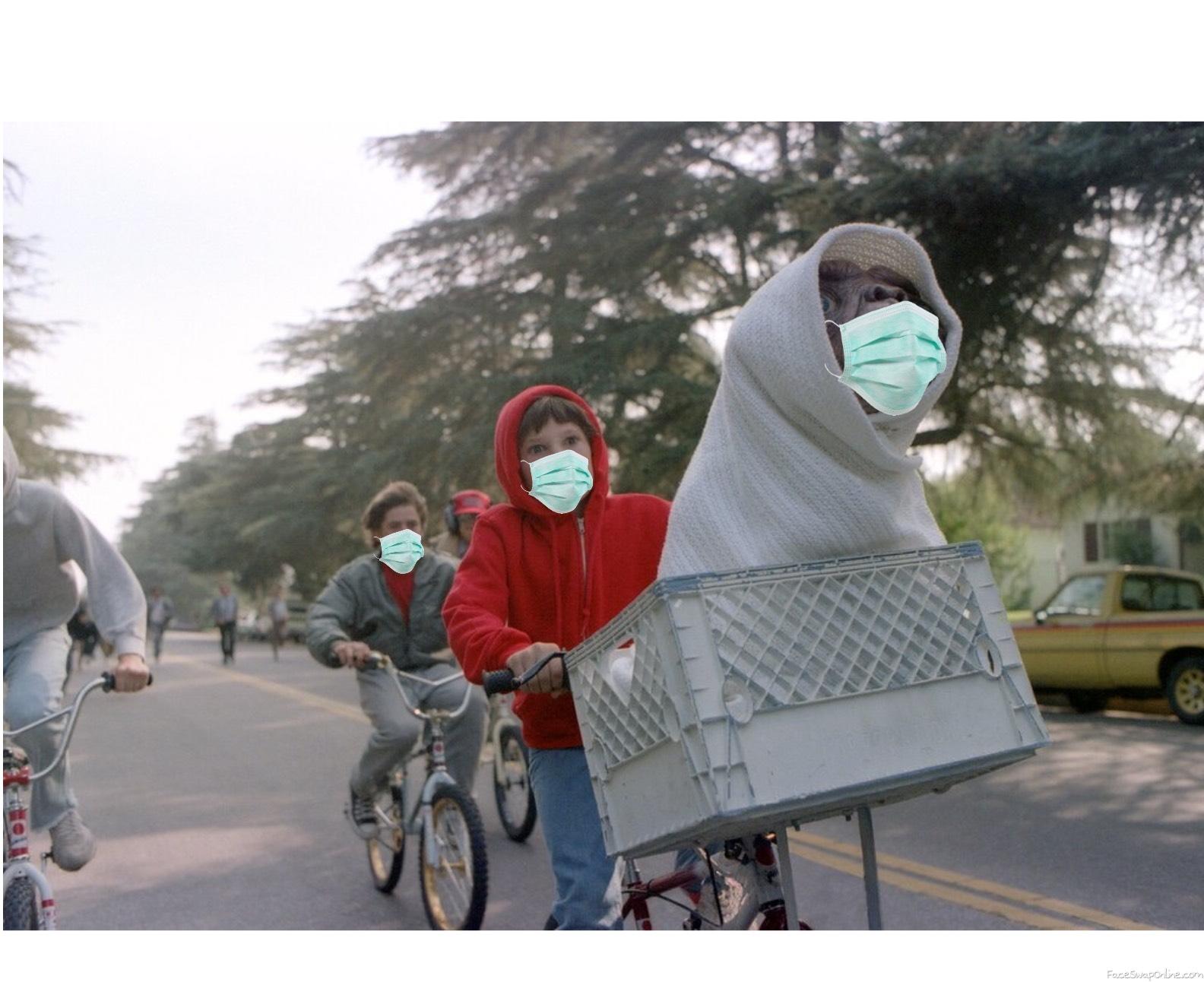 E.T during Coronavirus lockdown