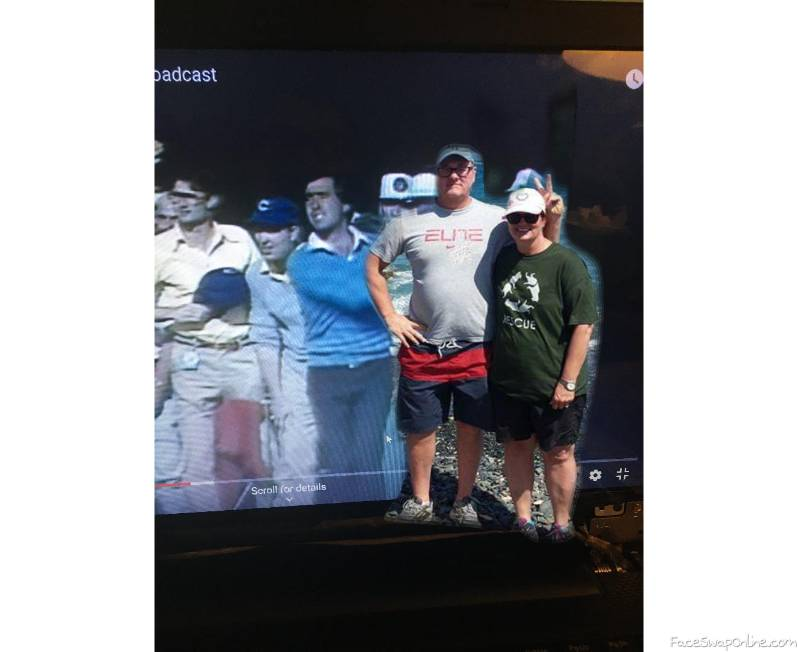Mel and Ron at the Masters 2016