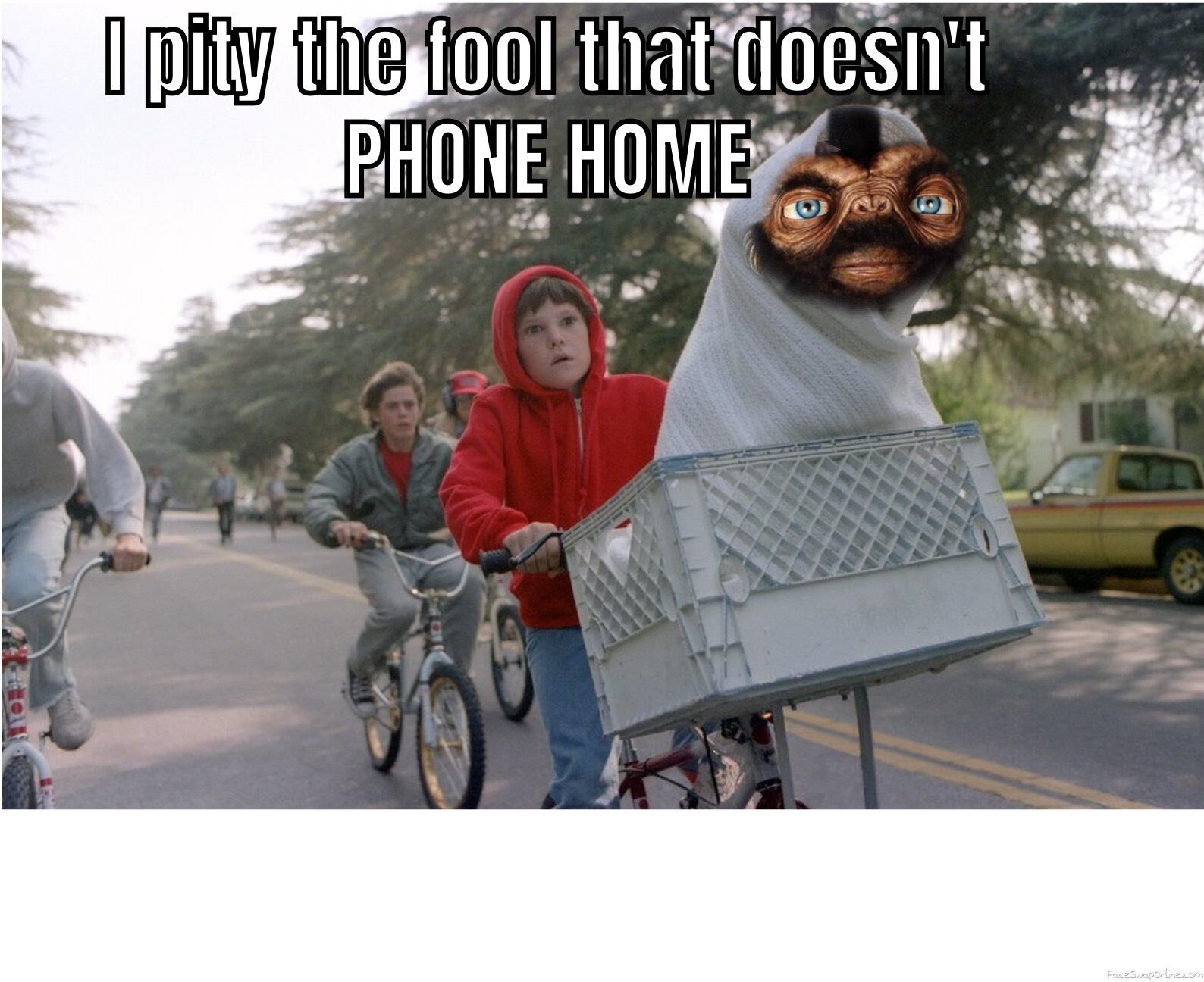 Mr. E.T