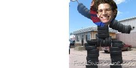 Tire tom