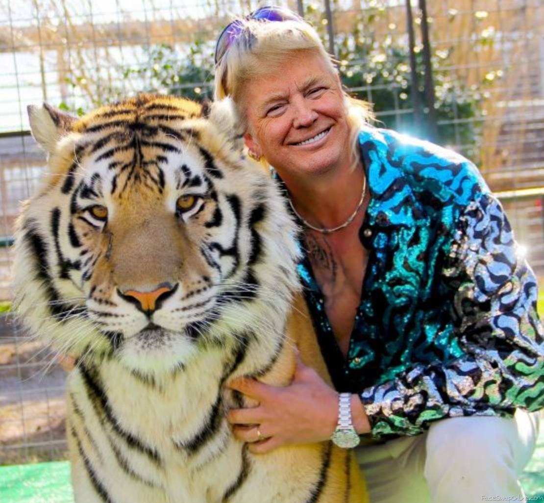 Donald Trump as Tiger King