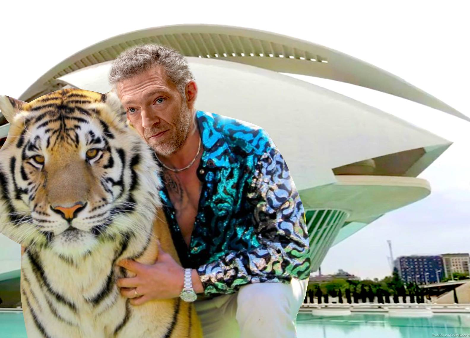 Here's how Tiger King looks like in Westworld Valencia