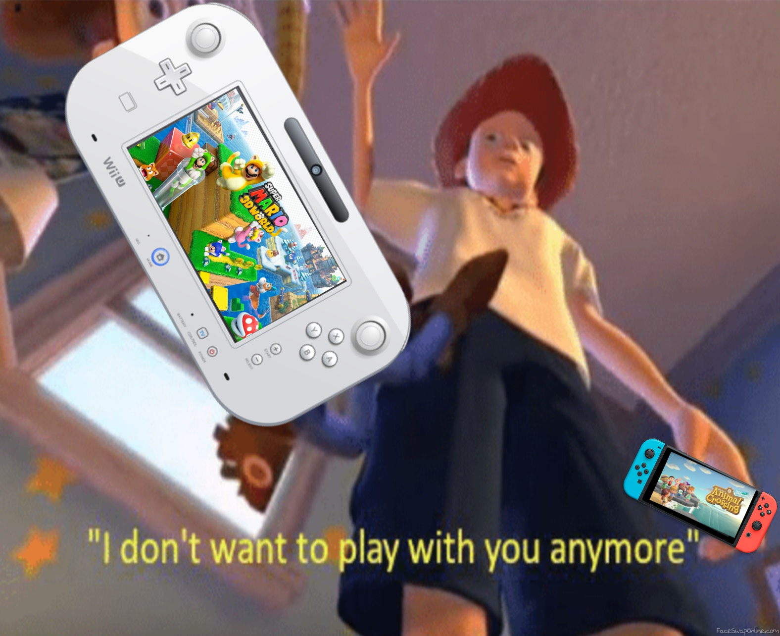 Almost everyone when the Switch came out: