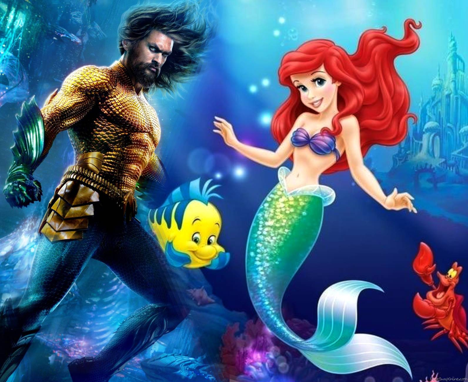 Aquaman VS Little Mermaid