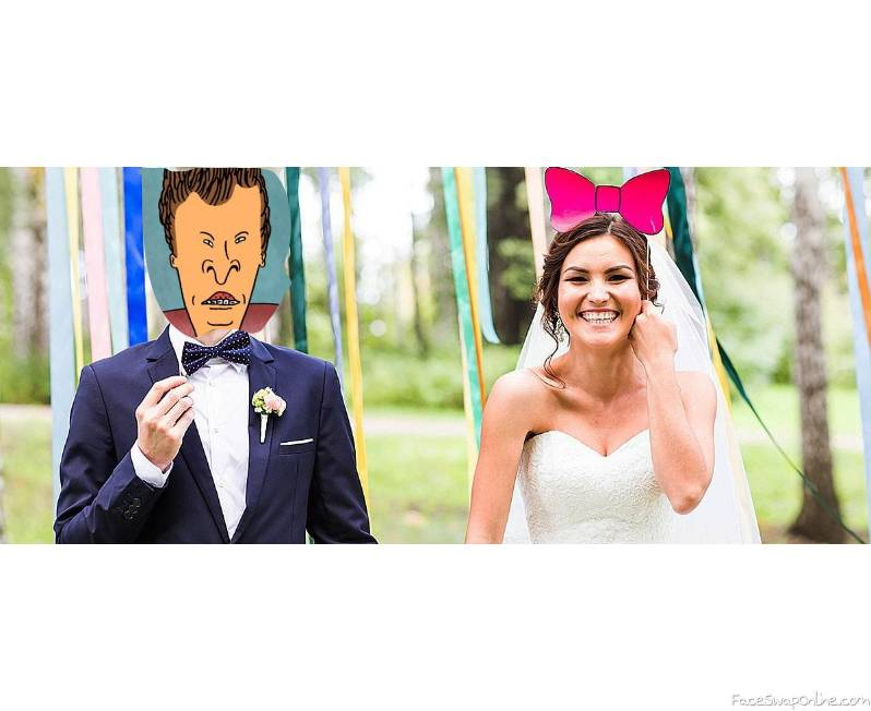 Butthead's marriage to a girl
