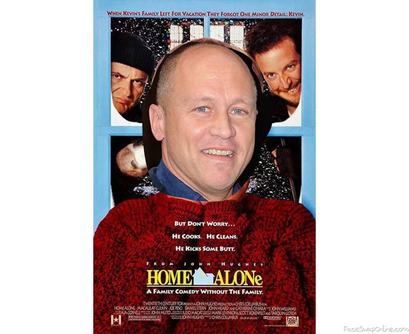 Mike Judge in Home Alone movie