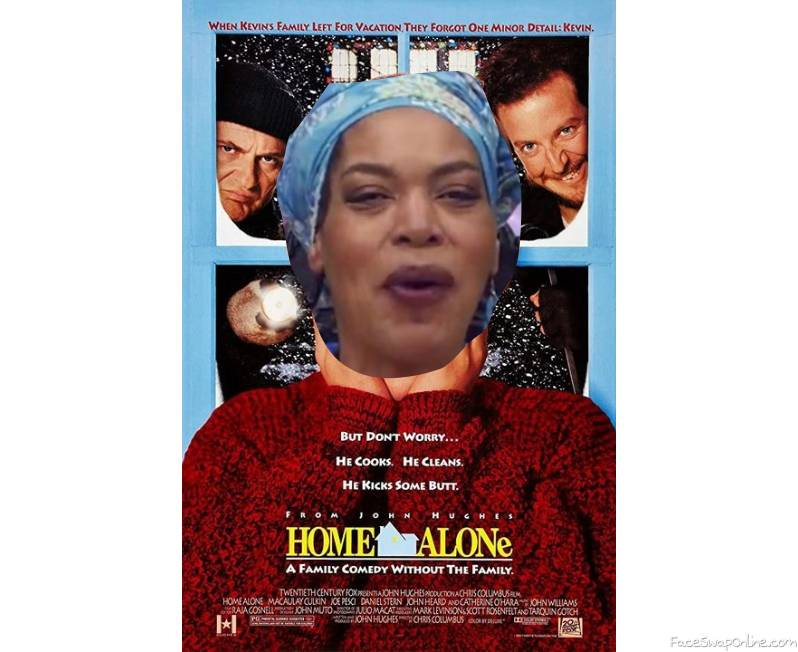 Miss Cleo in Home Alone movie