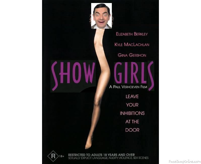 Mr Bean in Show Girls