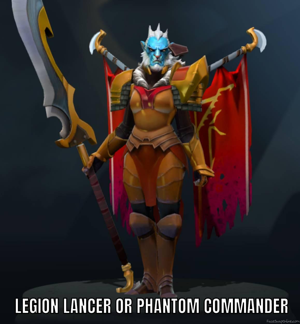 Phantom Lancer on Legion Commander