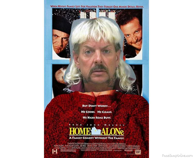 Tiger King in Home Alone movie