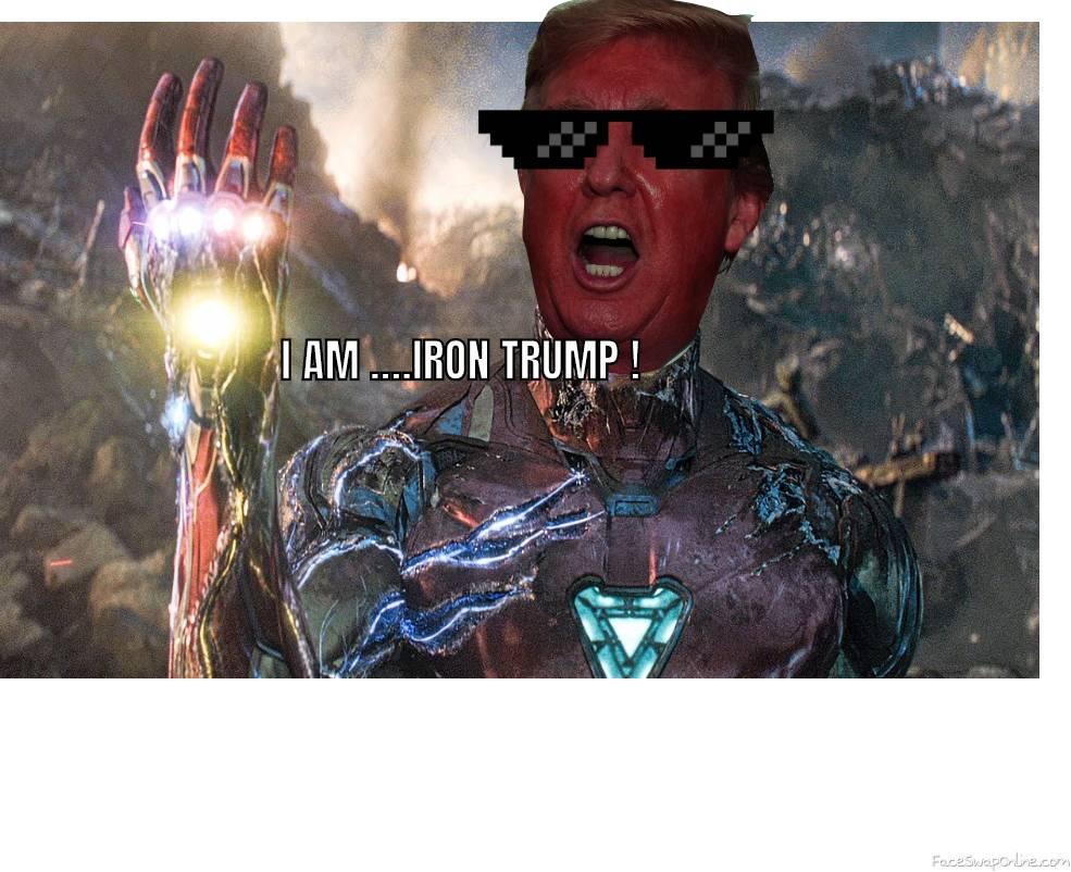 Iron man + Donald trump :-)
