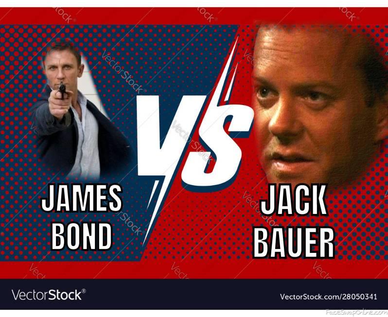 James Bond VS Jack Bauer
