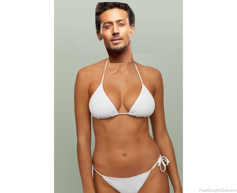 Tiger Shroff in Bikini