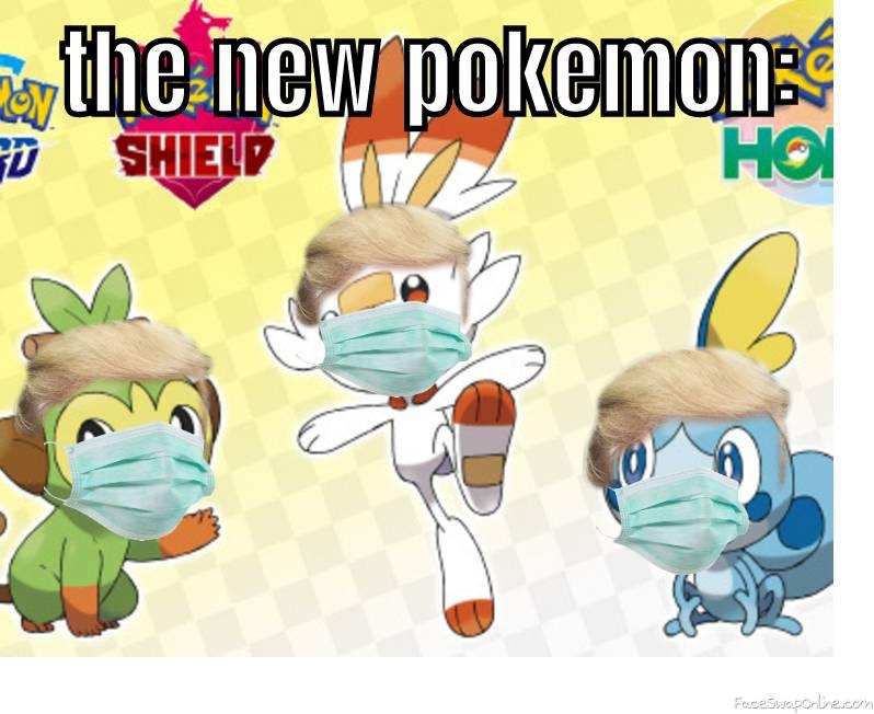 the new pokemon: