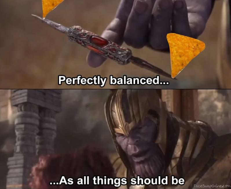 perfect balence