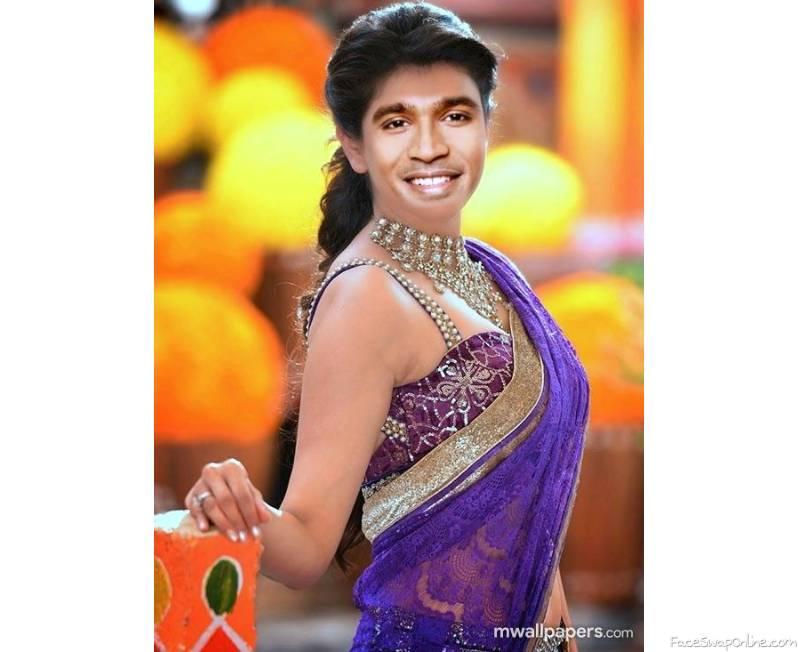 Dhanush Kajal Agarwal face swap