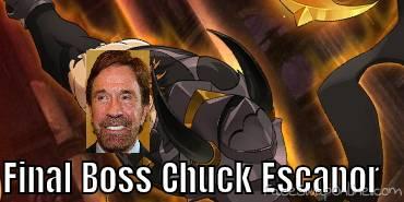 Final Boss Chuck Escanor