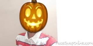 Halloween Boy Selfie