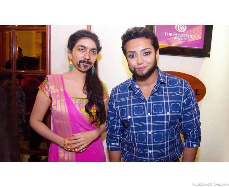 Surya Vidhya Pradeep face swap
