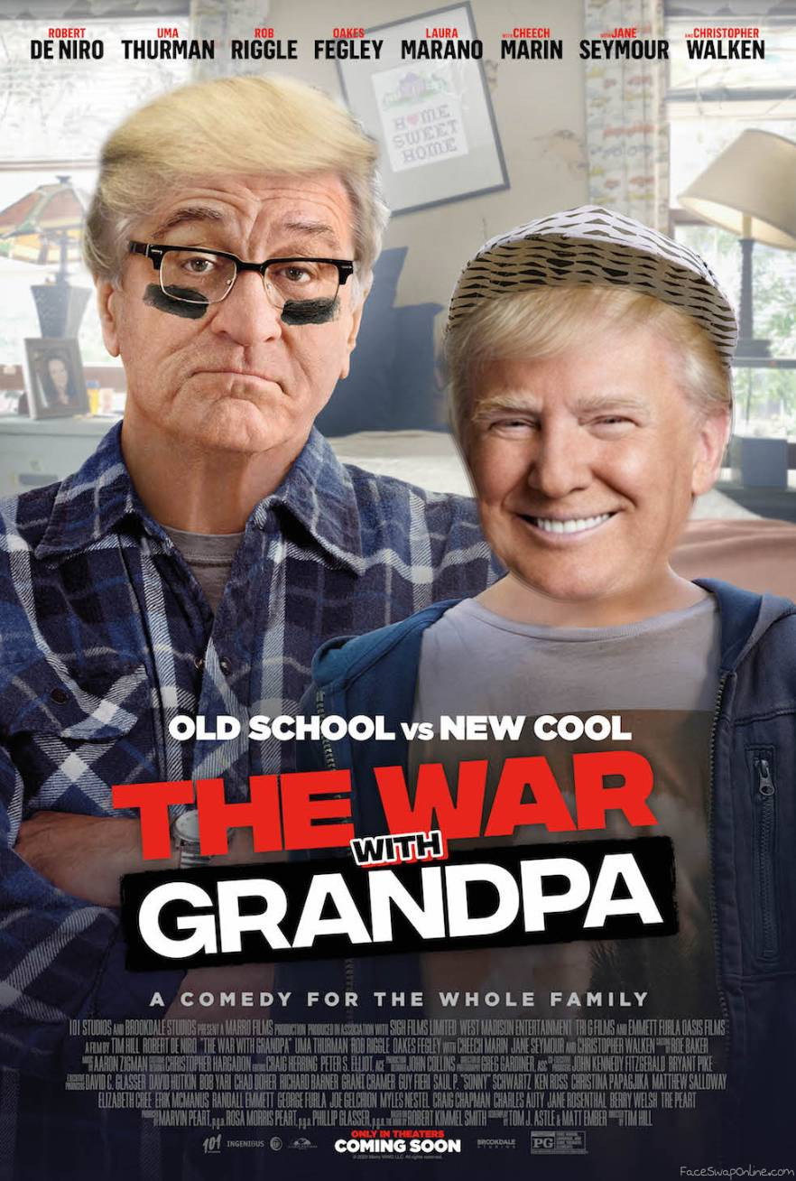 The War with Grandpa vs Donald