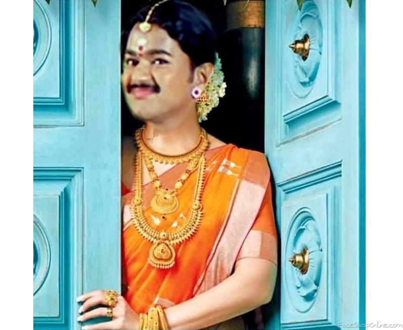 Vijay Nayanthara head swap